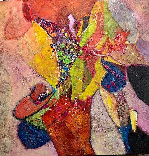 Ilona Felizitas Hetmann, Im Zirkus, Abstraktes, Abstrakte Kunst