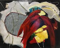 Ilona-Felizitas-Hetmann-Landschaft-Berge-Moderne-Abstrakte-Kunst-Informel