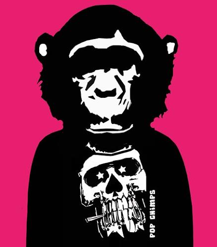 Marisa Rosato, Skull by Pop Chimps, Menschen: Porträt, Tiere: Land, Gegenwartskunst