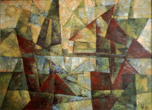 EMSARO, Idylle, Abstraktes, Bauhaus