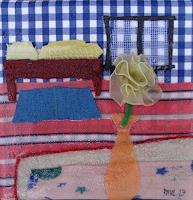P. Hofmann, Blume und Bett