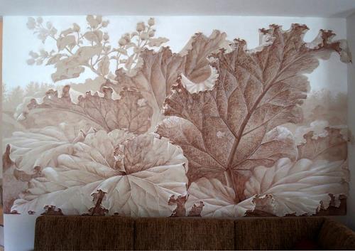 MarianaS, O/T, Natur: Wald, Landschaft: Sommer, Kunst am Bau, Expressionismus