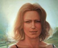Marianas-Menschen-Frau-Menschen-Portraet-Neuzeit-Realismus