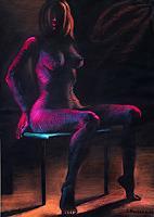 Marianas-Akt-Erotik-Akt-Frau-Menschen-Frau-Neuzeit-Realismus