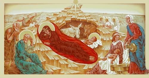 MarianaS, Frohe Weihnachten wünsche ich allen!, Religion, Glauben, Historismus, Expressionismus