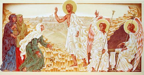 MarianaS, Die Auferstehung, Religion, Mythologie, Kunst am Bau, Expressionismus