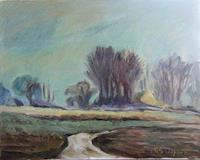 Margareta-Schaeffer-Landschaft-Herbst-Natur-Erde-Moderne-Impressionismus