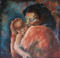Margareta-Schaeffer-Menschen-Frau-Gefuehle-Liebe-Moderne-Impressionismus