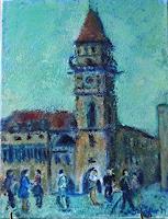 Margareta-Schaeffer-Menschen-Gruppe-Diverses-Moderne-Impressionismus