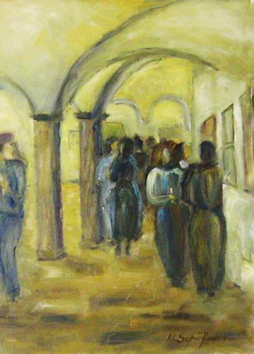 Margareta Schaeffer, Vernissage, Menschen, Gesellschaft, Impressionismus
