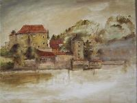 Margareta-Schaeffer-Landschaft-Bauten-Moderne-Impressionismus