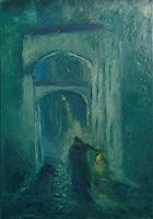 Margareta-Schaeffer-Menschen-Mann-Architektur-Moderne-Impressionismus