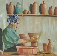 G. Nasih, Pottery maker 1