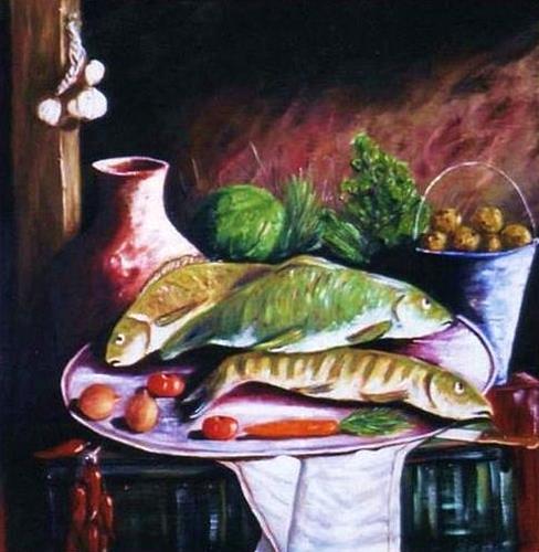 Garcia Nasih, In the kitchen, Fashion, Tiere: Wasser, Avantgarde