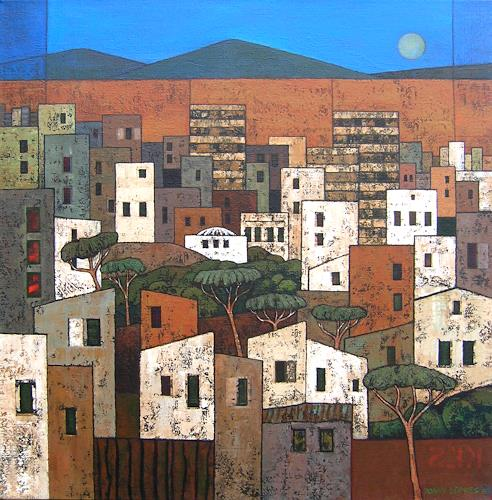 Jonny Lüpkes, Urban, Diverse Landschaften, Architektur, Gegenwartskunst