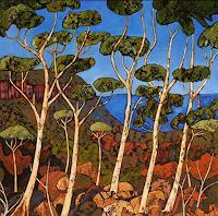 Jonny-Luepkes-Landschaft-Landschaft-Moderne-Abstrakte-Kunst