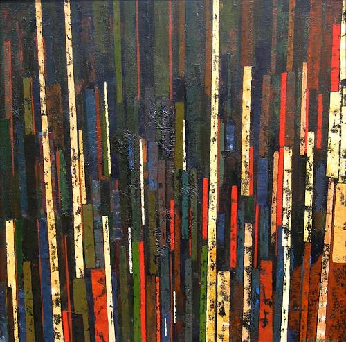 Jonny Lüpkes, Ohne Titel, Abstraktes, Architektur, Moderne