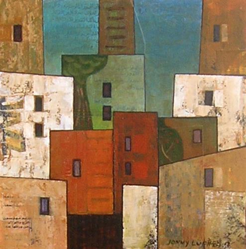 Jonny Lüpkes, Sidi Bou Said, Tunesien, Landschaft, Architektur, Gegenwartskunst