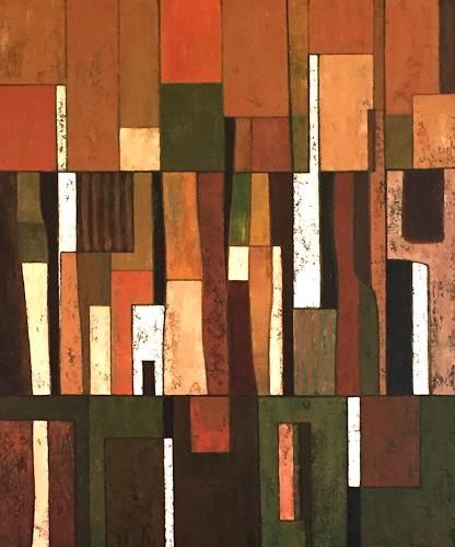 Jonny Lüpkes, O.T., Abstraktes, Abstraktes, Gegenwartskunst