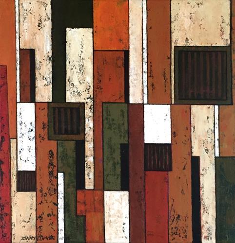 Jonny Lüpkes, Bild, Abstraktes, Skurril, Gegenwartskunst