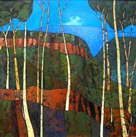 Jonny Lüpkes, Blue Mountains Landscape NSW