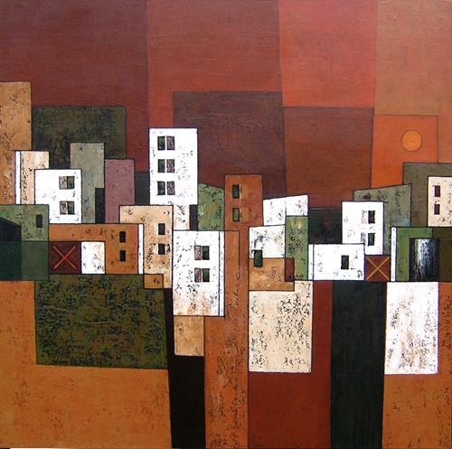 Jonny Lüpkes, Urban, Architektur, Bauten, Gegenwartskunst