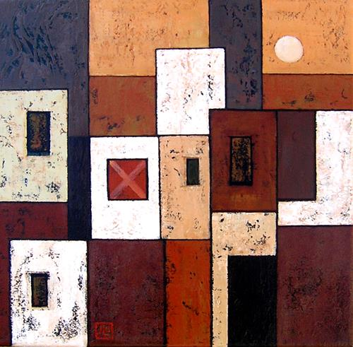Jonny Lüpkes, Bild, Abstraktes, Abstraktes, Gegenwartskunst, Expressionismus