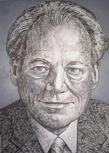 José García y Más, Willy Brandt, Geschichte, Menschen: Porträt, Gegenwartskunst