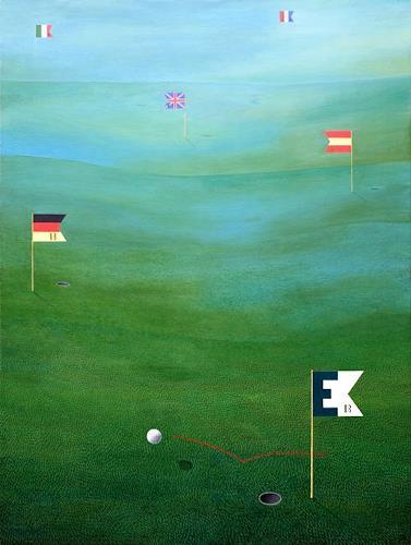 José García y Más, Keep the Ball Rolling… / Der Ball, Geschichte, Symbol, Gegenwartskunst