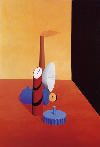 José García y Más, Technique / Technik, Technik, Industrie, Gegenwartskunst, Abstrakter Expressionismus
