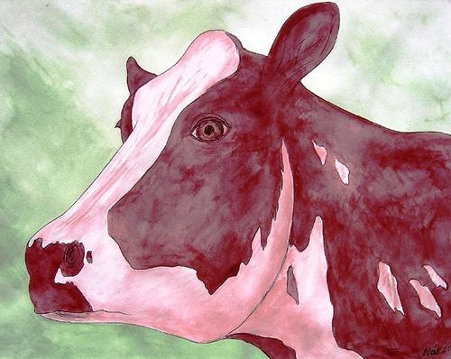 José García y Más, Cow 1 / Kuh 1, Markt, Tiere: Land, Gegenwartskunst