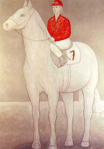 José García y Más, Jockette / Startnummer 7, Sport, Tiere: Land, Gegenwartskunst