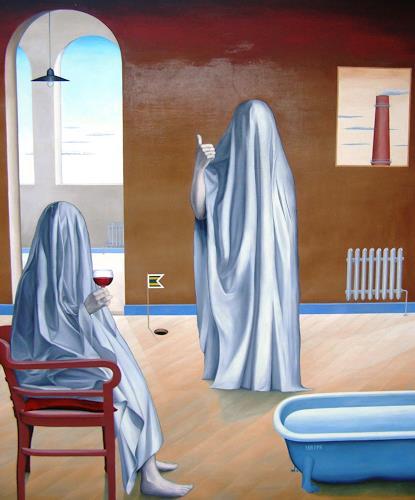 José García y Más, The Haunted House 1 / Traum oder Alptraum 1, Geschichte, Markt, Postsurrealismus, Abstrakter Expressionismus