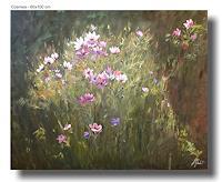 Rebecca-Henkel-Pflanzen-Blumen-Landschaft-Sommer-Moderne-Impressionismus