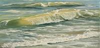 Rebecca-Henkel-Landschaft-See-Meer-Natur-Wasser-Neuzeit-Realismus