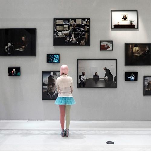 j.p.yef, pink, Menschen: Frau, Gegenwartskunst, Expressionismus