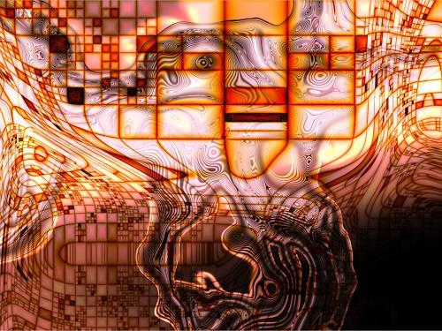 j.p.yef, down under, Abstraktes, Expressionismus
