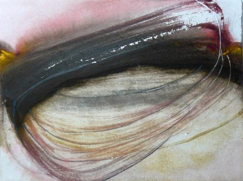 Andreas Schöning, Oval, Abstraktes, Abstraktes, Informel, Expressionismus