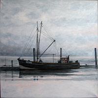 Uwe-Thill-Landschaft-See-Meer-Zeiten-Winter-Neuzeit-Realismus