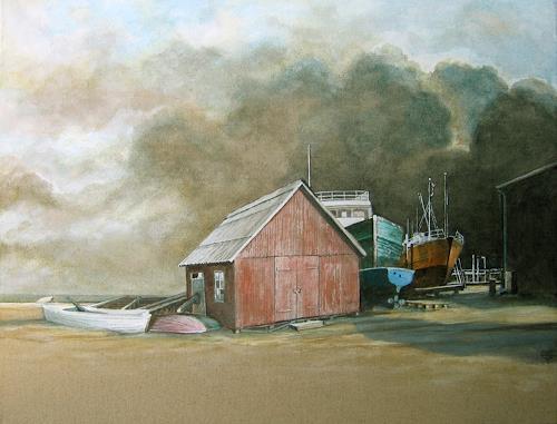 Uwe Thill, Hvide Sande, Diverse Landschaften, Abstrakte Kunst