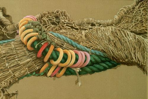 Uwe Thill, Gedrehte Spannung, Diverses, Arbeitswelt, Gegenwartskunst, Expressionismus