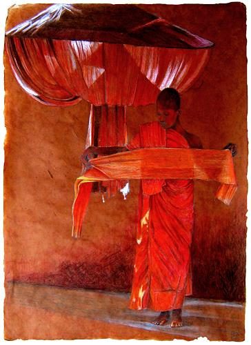 Uwe Thill, Der zu gehende Weg, Menschen, Glauben, Gegenwartskunst, Expressionismus