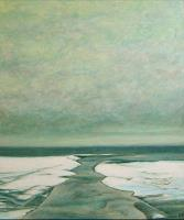 Uwe-Thill-Landschaft-See-Meer-Landschaft-Winter-Gegenwartskunst-Gegenwartskunst
