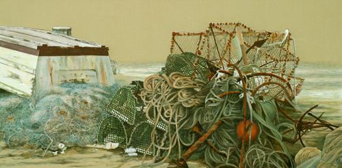 Uwe Thill, Abgelaufen, Arbeitswelt, Diverses, Gegenwartskunst, Expressionismus