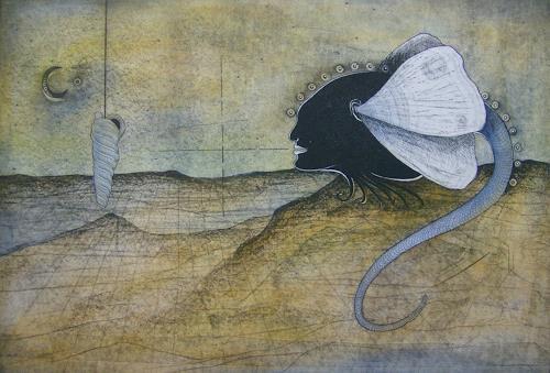 Reinhard Koschubs, Odem, Fantasie, Abstrakter Expressionismus
