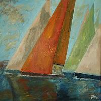 J. Kühne, am wind