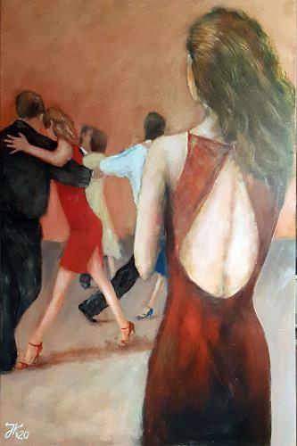 Jürgen Kühne, tangoblick 5, Menschen: Gruppe, Gegenwartskunst