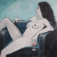 Juergen-Kuehne-Akt-Erotik-Akt-Frau-Gegenwartskunst-Gegenwartskunst