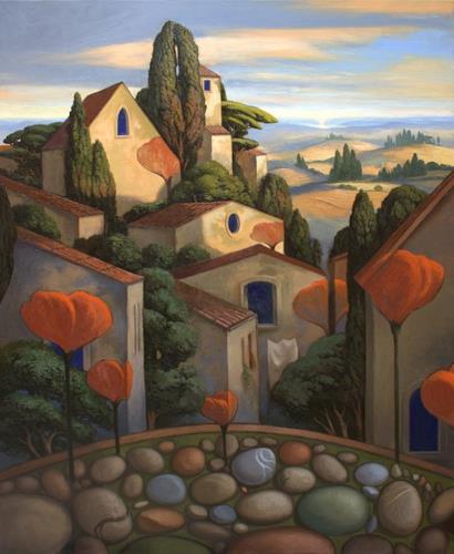 Stefan Ambs, Die geheimnisvolle Stadt des Signore Ciottolo, Architektur, Symbol, Symbolismus, Expressionismus