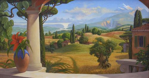 Stefan Ambs, Landschaft, Landschaft: Berge, Landschaft: See/Meer, Manierismus